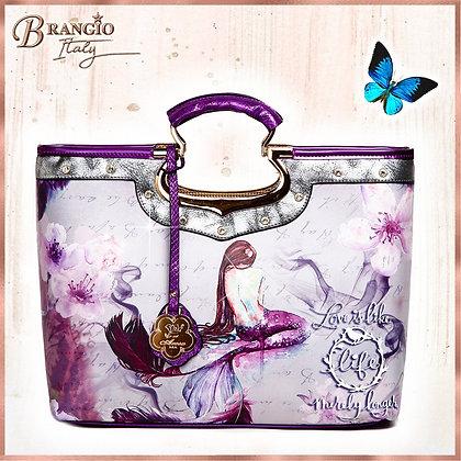 Princess Mera Designer Multi Pocket Handbags With Replacement Straps