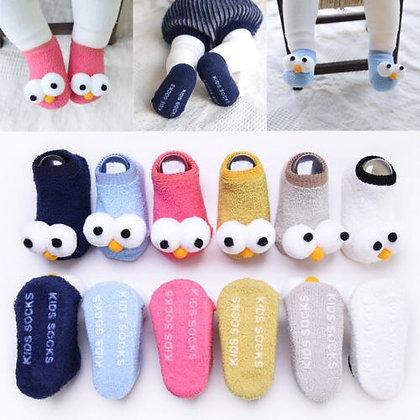 Newborn Anti-Slip Warm Cartoon Socks / Slippers
