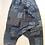 Thumbnail: Baggy Harem Loose Trousers - Aladdin Lantern Wide Leg Satin Pants