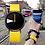 Thumbnail: Sinobi - Hot Creative Wrist Watch / Yellow Leather