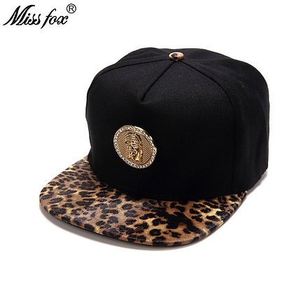 Missfox - Hip Hop 18k Gold Plated Gangsta Caps at GOOGOOSTORE