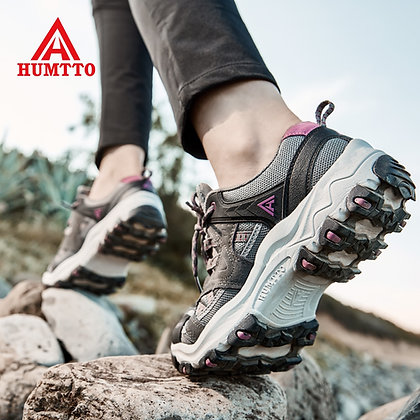 HUMTTO - Hiking Shoes  - Outdoor Breathable Climbing Shoes at Googoostore