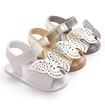 Baby Girl Sandals Cute Butterfly Models Princess Casual Soft Sandals