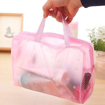 5 Colors Make Up Organizer Bag Toiletry Bathing Storage Bag