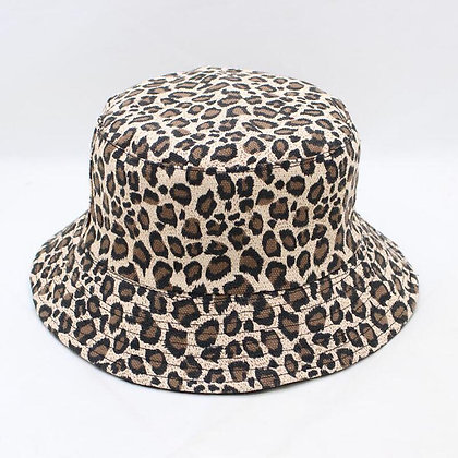 SUOGRY - Leopard Print Bucket Hat / Sun Hats at GOOGOOSTORE