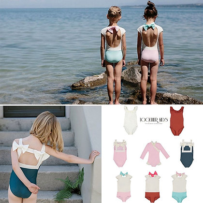 Toddler Girls Sweet Swimming Suits at GOOGOOSTORE