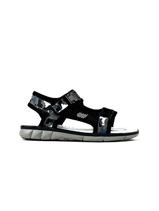 Oliver Boy's Sandal Black/Grey