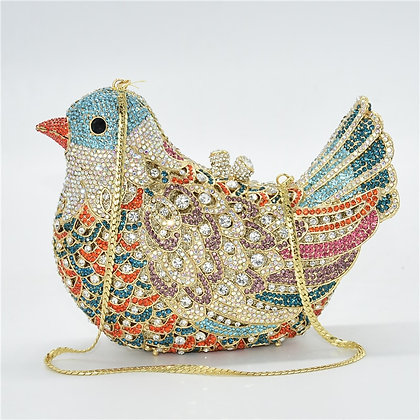 Latest Design Wedding Clutches Bags  / Colorful Diamonds