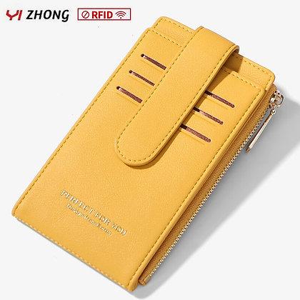 YIZHONG Rfid - Leather / Luxury Credit Card Purse