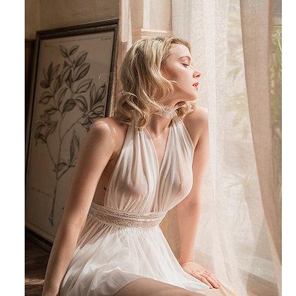 Intimate Erotic Babydoll Sleepwear Transparent Costumes Lingerie Feminina JF022