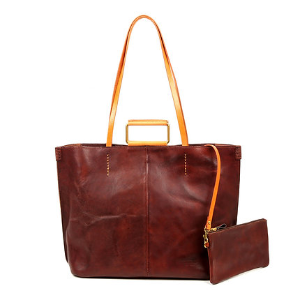 High Hill Leather Tote