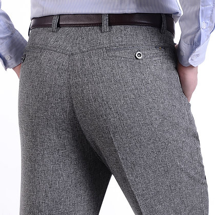 MRMT 2021 Brand Men's Trousers Middle-Aged Men Trousers Casual Loose Thin Pants