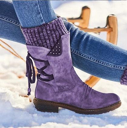 High Quality Flat Heel Boot