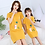 Thumbnail: Mother Daughter Dresses Summer Cotton Family Matching Outfit Cartoon Dress