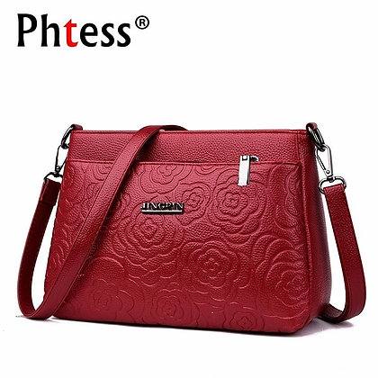 Messenger Bags Small Leather Shoulder Bag Female Sac a Main Vintage Bags