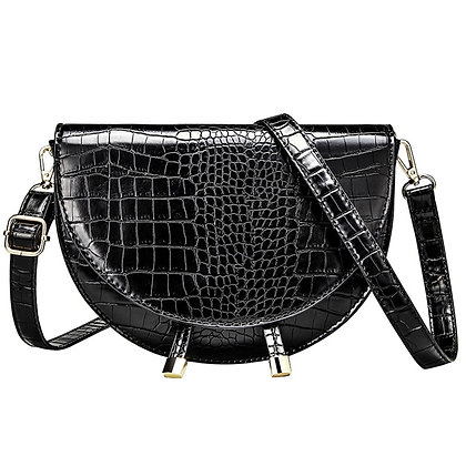 Fashion Brand Bag Alligator PU Leather Messenger Bag / Designer Bolso Mujer