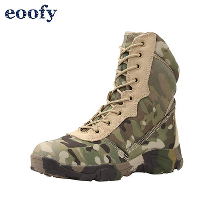 Military Combat Lightweight Hiking - Motorcycle Boots