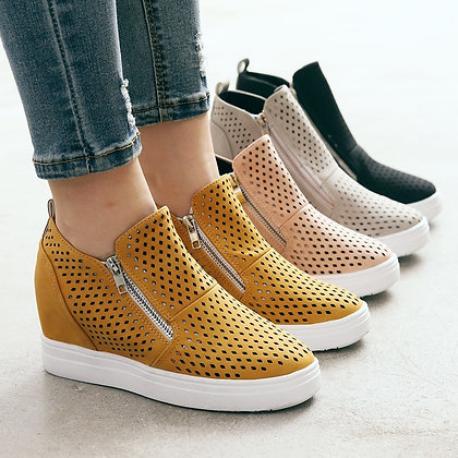 Ankle Flat Round Toe Casual Shoes