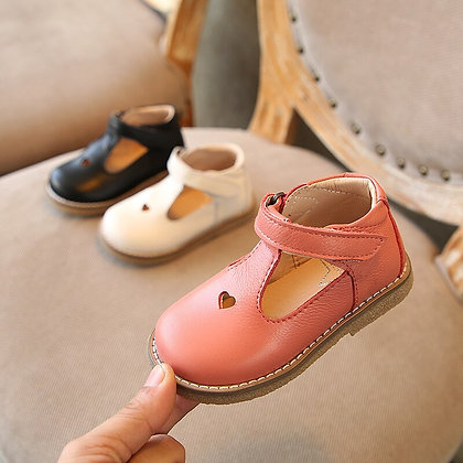 Genuine Leather Soft Bottom Baby Shoes