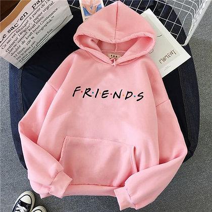 Pink Sweatshirt / Hooded top / Oversized Streetwear