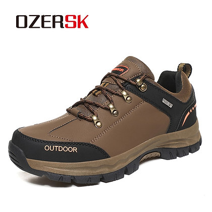 OZERSK Comfortable Ankle Boots / Leather Outdoor 38-48