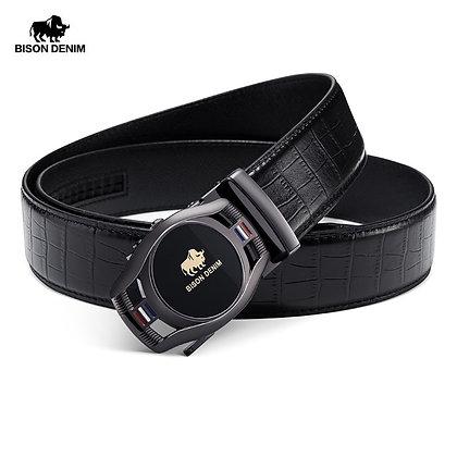 BISON DENIM Brand Fashion - Genuine Leather Belt