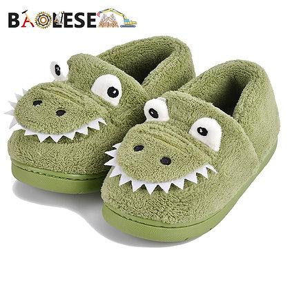 BAOLESEM / Cute Dinosaur Non-slip Kids slippers
