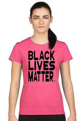 Women's Juniors T Shirt Black Lives Matter