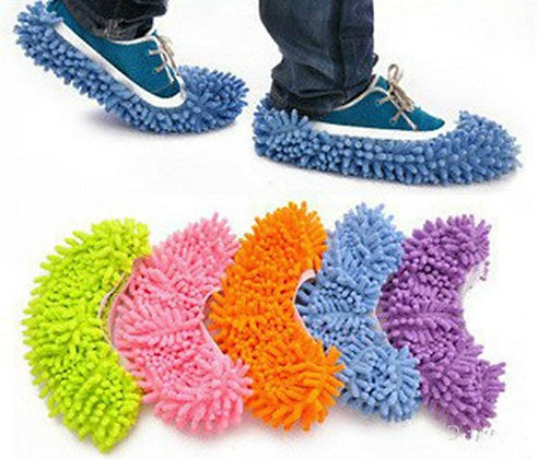Microfiber Cleaning Slipper / Home Cloth Clean Cover