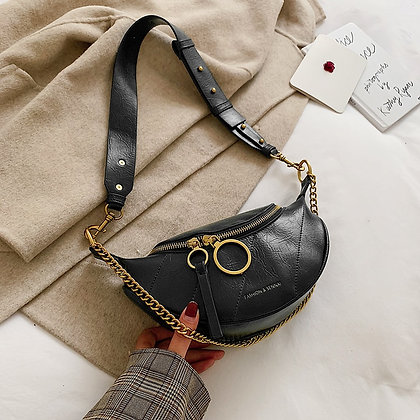 Quality PU Leather Crossbody with Chain