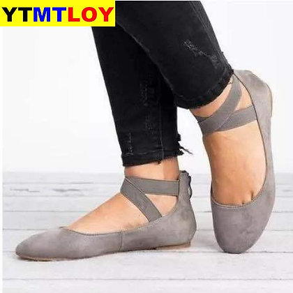 Cross-Strap  Casual flat shoes / Sandals
