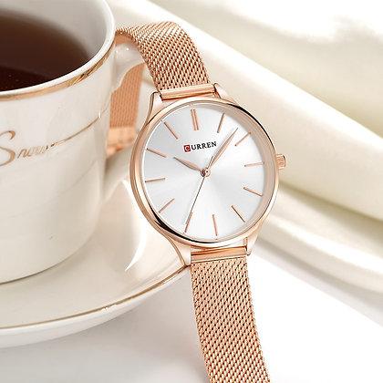 CURREN - Brand Bracelet Watch / Rose Gold