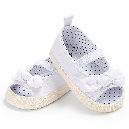 Solid Color Cute Shoes Kids Girl Butterfly Baby Sandals for Toddler Skidproof