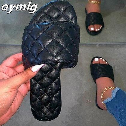 Flat Ladies Beach Sandals / Slippers - Designer - Sandalias Mujer