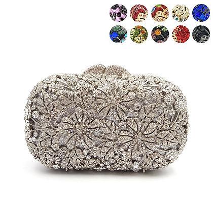 Elegant Crystal Clutch Luxury Bridal Wedding Party Handbag
