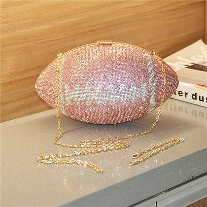 Luxury Designer Evening Bag - Chain Diamond Shoulder Bag / High Quality