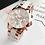 Thumbnail: Pink Rose Gold Wrist Watch