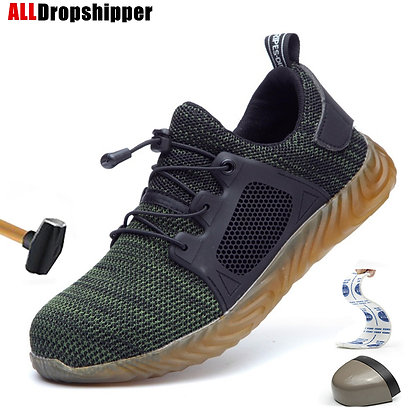 Indestructible Ryder Shoes Men Women Steel Toe Air Safety Shoes Puncture-Proof