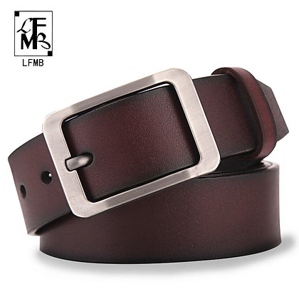 Pin Buckle / Genuine Leather Belts -130cm /High Quality
