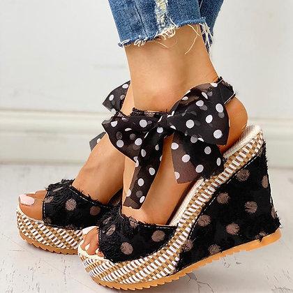 Platform -Casual /Ankle Strap Open Toe Sandals