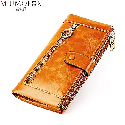 Genuine Leather / Wax Leather Coin Purse