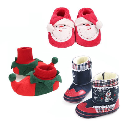Christmas Design - Warm Baby Boots
