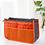 Thumbnail: CelleCOOL Zipper Makeup Bag Neceseries Cosmetic Bag Small Handbag