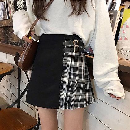 Harajuku Skirts - High Waist Pleated Mini Skirts at Googoostore