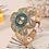 Thumbnail: New Fashion Flower Shape Jewelry Crystal Ladies Quartz Watch