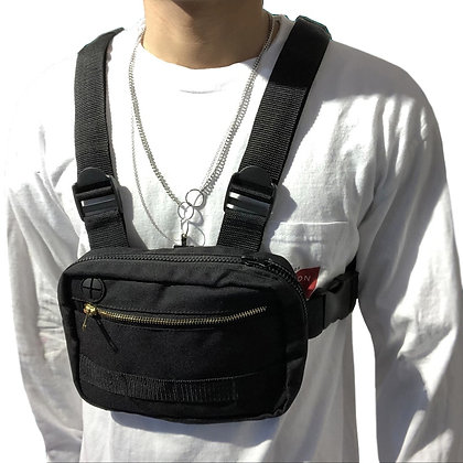 Tactical Streetwear Vest Chest Rig Bags