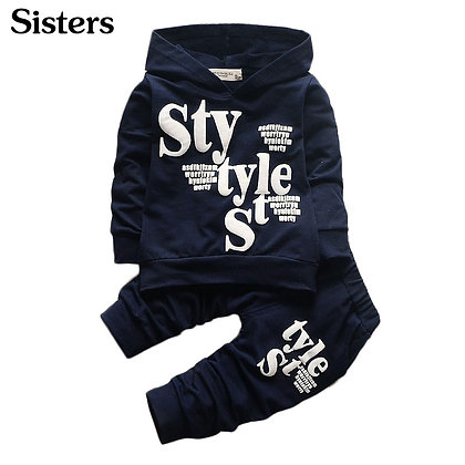 2pcs Cotton Shirt + Pants Toddler Boys Clothing Set at Googoostore