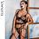 Thumbnail: Ellolace Sexy Lace Lingerie Women Underwear 3 Piece Set See Through