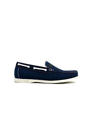 Emblem Boat Shoes Navy