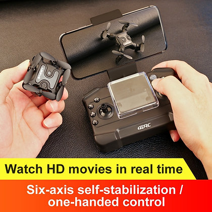 Mini Drone With/Without HD Camera Hight Hold Mode RC Quadcopter RTF WiFi FPV